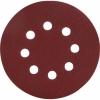 Диск шлифовальный перфорированный под липучку 125 мм (Р80) BIBER (5 шт)