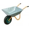 Тачка садовая 1-колесная 85л. колесо 360мм желтая