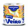 Полотенце Linia VEIRO Classic 2-х слойное 2 рулона (50 листов) с рисунком