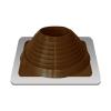 Уплотнитель кровельный №7 силикон 157-280мм коричневый