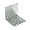 Уголок мебельный 100х100 мм цинк (2 шт) Крепстандарт