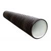 Труба гофрированная ПНД 200/178 мм (6 м) черный SN8