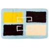 Коврик для ванной, акрил, 50x80см, Квадраты бежевый, Дизайн GC 462-551