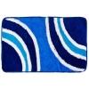 Коврик для ванной, акрил, 50х80см, Абстракция синий, Дизайн GC 462-552