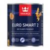 Краска влагостойкая интерьерная Tikkurila Euro Smart 2 белая база VVA 0.9 л