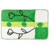 Коврик для ванной, акрил, 50х80см, Зелень цветов, Дизайн GC 462-558