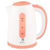 Чайник ВАСИЛИСА Т15-2200  1,7 л, 2200 Вт. белый с коралловым
