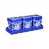 Набор емкостей ФЛОРЕЛЬ 1,2 л (чай, сахар, соль) на подставке АЛЬТЕРНАТИВА М4724