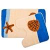 Набор ковриков 2шт для ванной и туалета VETTA, акрил, 50x80см + 50x50см, Морской, SCF05-13 462-459
