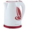 Чайник ENERGY E-211 1,8л, диск, бело-красный