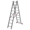 Лестница 2-х секционная Новая высота NV122 (2х9 ступеней)