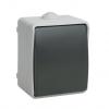 Выключатель 1-кл. ОП серый 10 А, IP54 IEK Форс ВС20-1-0-ФСр