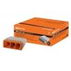 Клемма КБМ-2273-233 на 3 провода 0.75-2.5 мм², с пастой (5 шт) TDM ЕLECTRIC