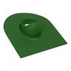 Проходной элемент трубы для мягкой кровли зеленый