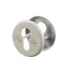 Ключевина 004 (под цилиндр) d55мм белая