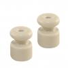 Изолятор керамический для ретро провода ЭКО сосна (25шт) TDM