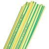 Термоусаживаемая трубка ТУТ 12/6 мм, 50 шт (желто-зеленый) 1000 мм EKF