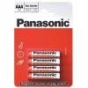Батарейка солевая PANASONIC R03 (AAA) Zinc Carbon 1.5В бл/4