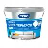 Краска интерьерная ТЕКС Профи супербелая 1.8 л/2.7 кг