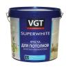 Краска акриловая для потолка VGT ВД-АК-2180 супербелая 3 кг