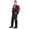 Костюм Фаворит-Мега темно-серый с черным и красным размер 44-46 рост 170-176