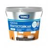 Краска влагостойкая для стен и потолков ТЕКС Профи супербелая 0.9 л/1.3 кг