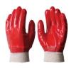 Перчатки маслобензостойкие с ПВХ покрытием (резинка)