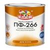 Эмаль ПФ-266 для пола OLECOLOR красно-коричневая 2.7 кг