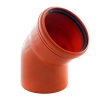 Отвод для наружной канализации 160 мм угол 45°