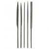 Набор надфилей 160 мм ручка металл Стандарт BIBER (5 шт)