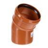 Отвод для наружной канализации 110/30*