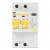 Выключатель автоматический диф. тока 2П 3.5 мод. С 25А 30 мА 4.5 кА АД12 IEK