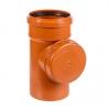 Ревизия для наружной канализации 110 мм (на резьбе)