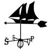 Флюгер Корабль (метал)