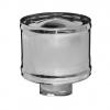 Дефлектор (зонт с ветрозащитой) из н/ж (толщ. 0,5мм) ф=150мм,  по дыму