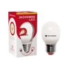 Лампа светодиодная LED G45 7 Вт E27 шар 3000 K теплый свет ЭКОНОМКА