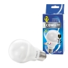 Лампа светодиодная LED A60 9 Вт E27 груша 4000 K холодный белый свет ECOWATT