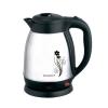 Чайник ENERGY E-256 1,5л, диск, стальной, матовый, цветы
