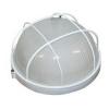 Светильник НПП 1302 белый круг 60 Вт с решеткой IEK