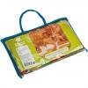 Полотенце-простынь Банные штучки-32071 банное, вафельное, цветное, 80*150