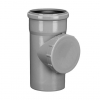 Ревизия для внутренней канализации 110