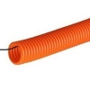 Труба гофрированная ПНД 16 мм с зондом 1 м оранжевая ДКС 71916