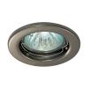 Светильник потолочный 113AA 50 Вт поворотный черный никель Акцент