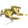Ручка-защёлка с ключом 808 ET-SB (матовое золото)