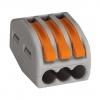 Клемма СК-413 на 3 провода 0.1-2.5 мм² (5 шт) TDM ЕLECTRIC