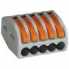 Клемма СК-415 на 5 проводов 0.1-2.5 мм² (5 шт) TDM ЕLECTRIC