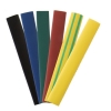 Термоусаживаемая трубка ТУТнг 8/4 мм, 21 шт (7 цветов) 100 мм TDM ЕLECTRIC