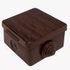 Коробка распределительная (распаячная) ОП 65х65х50 мм бук TDM ЕLECTRIC