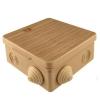 Коробка распределительная (распаячная) ОП 80х80х50 мм сосна TDM ЕLECTRIC