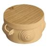 Коробка распределительная (распаячная) ОП D85х40 мм сосна TDM ЕLECTRIC